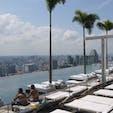 シンガポールの定番・マリーナベイサンズ屋上のインフィニティプール🏊 #シンガポール #マリーナベイサンズ #インフィニティプール