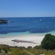 オーストラリア・パース近郊のロットネスト島。海がキレイなのはもちろん、世界中でこの島にしか生息しないと言われる、クオッカにも注目。ポケモンのピカチュウのモデルと言われている動物です。 #ピカチュウ