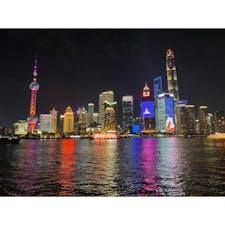 中国🇨🇳:上海 外灘から見る夜景