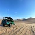 ワカチナ・サンドバギーのツアーにて 皆が歩いた後につく砂の模様が好きだったり。