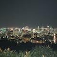 カナダ、モントリオールのモン・ロワイヤル展望台からの夜景!モントリオールの街が一望できます。頂上にはおしゃれなカフェもありー。 (ただ、合法だからか葉っぱの匂いが強烈ですた。。) (2019年8月)