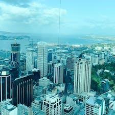 ニュジーランド旅行❣️スカイタワーからの景色(^^) #ニュージーランド #スカイタワー #ニュージーランド北島 #オークランド