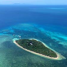 #グリーン島 #グレートバリアリーフ #オーストラリア  2020年1月  セスナに乗ってグレートバリアリーフ遊覧飛行✈︎ グリーン島🏝綺麗すぎて楽園に見えた...🥺🥺