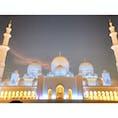 #アブダビ シェイクザイードモスク  ㅤㅤㅤㅤㅤㅤㅤㅤㅤㅤㅤㅤㅤ 日の入り後の限られた時間で見れる、 アラジンの世界。 ㅤㅤㅤㅤㅤㅤㅤㅤㅤㅤㅤㅤㅤ #加工なし