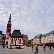 ドイツ フランクフルト  レーマー広場