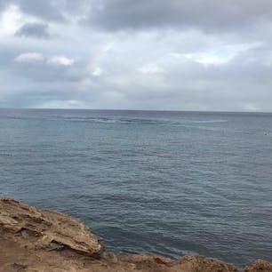 ハワイ ★ホノルル アウラニディズニーの側のビーチ  シュノーケルとか楽しそうなビーチ🏖