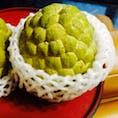 シャカという果物 甘くて美味しいです!