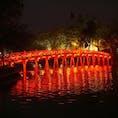 ベトナム ハノイ フク橋