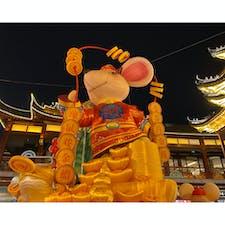 中国🇨🇳:上海 豫園商城のお正月飾り