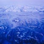 アラスカの氷山  飛行機から撮りました✈️