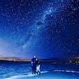 ウユニ塩湖,Bolivia🇧🇴 12月後半はあまり水が張ってなくて鏡貼りはイマイチだったけど、星空は天の川が綺麗に見えて大満足でした⭐️