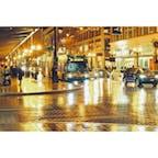 シアトル, アメリカ🇺🇸 rainy city と呼ばれるシアトルの夜は街全体が雨で反射してとても綺麗。
