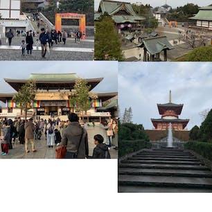 成田山に初詣