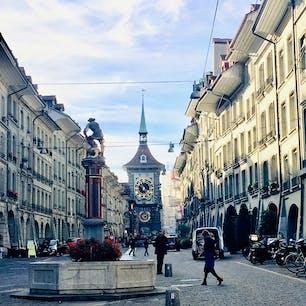 スイス ベルンの時計塔Zytglogge