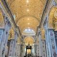 ヴァチカン🇻🇦 サン・ピエトロ大聖堂  さすがカトリックの総本山という豪華さでした。