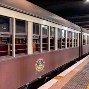 #キュランダ観光鉄道 #ケアンズ #オーストラリア  2020年1月  なんといってもこのロゴが好き😊💕