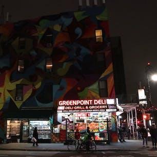 New York / Brooklyn Greenpoint ブルックリン・グリーンポイントの地下鉄の駅。 #newyork #brooklyn #greenpoint