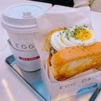 西面ロッテ百貨店裏にある【EGG DROP】  朝から営業していて朝食にもピッタリです‼️