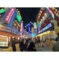 大阪といえばここを思い出す。『新世界』飲み屋が多く立ち並び人気が高い。  #大阪 #新世界 #通天閣 #飲み屋街