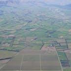 ニュージーランド  飛行機からのショット