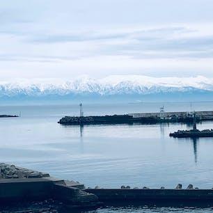 2020年1月 氷見から見た立山連峰