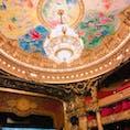 オペラ座 映画のオペラ座の怪人が大好きで憧れていた場所♡
