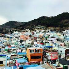 釜山*甘川文化村