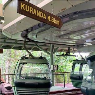 #スカイレール #キュランダ #オーストラリア  2020年1月  ゴンドラで乗り換えありってめずらしくない😳😳?