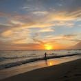 ハワイ ワイキキビーチのサンセット サンセットの時間てどうしてこうも心を揺らすのか