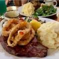 #ホッグス・ブレス・カフェ #ケアンズ #オーストラリア  2020年1月  お肉の大きさと焼き加減にとどまらず、 付け合わせ、サラダ、ポテト、ソースの種類が選べる👏  コショウソースおすすめ😉😉