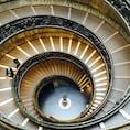 バチカン美術館の螺旋階段  #イタリア #バチカン美術館 #螺旋階段