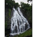 北海道 オシンコシンの滝