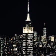 New York / Manhattan Rockefeller Center いつ見ても美しいEmpire State Building。ロックフェラーセンターの展望台から。 #newyork #manhattan #rockefellercenter