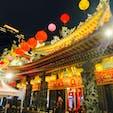 観光夜市の入口にあるお寺です。