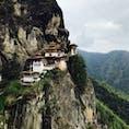 ヘトヘトになりながら到着した崖のタクツァン僧院。 翌日筋肉痛にならなかったのは、何かエネルギーが満ちているに違いない