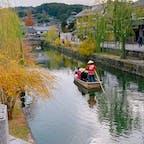 倉敷美観地区を散策🚶♀️  名物の船流しも見ることができました♡