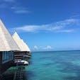 ニューカレドニア メトル島の水上コテージ🌴 天国に一番近い国🇳🇨