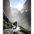 ヨセミテ国立公園 ミストトレイル 帰り道での思い出写真