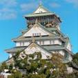 時間があったので大阪城に行ってきました☺️  朝だから空いているかと思ったら、人沢山いました💦