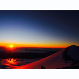2020.1 sunrise @top of Mauna Kea