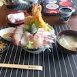 本日は、長崎県西海市の小安丸さんで メガ盛り丼頂きました。🐟