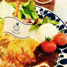 和歌山県 和歌山市 Faborite Coffee 味良い。本日のスープのクラムチャウダーも美味しかった。