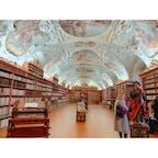 #CzechRepublic #ストラホフ修道院 #世界一美しい図書館