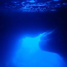 サイパン*グロット   青の洞窟!