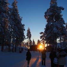 #フィンランド   #サンタクロース村  サンタに会えました🎅