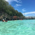 フィリピン*スミロン島  行った時は満潮だったけど綺麗すぎて大満足!