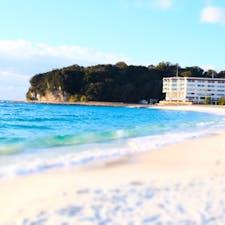 和歌山 白良浜 砂浜の白さが今まで行った中で1番。さらさらの砂浜。