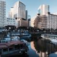 @東京都品川区 Shinagawa, Tokyo metro.  屋形船がわずか7軒残るのみとなった裏側には都市化がありました。#屋形船 #品川 #街 #品川区  (2020/01/31)
