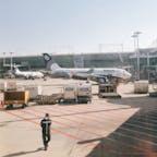 仁川国際空港 オーロラ航空🛩 キレイな飛行機見つけて パシャリ📸