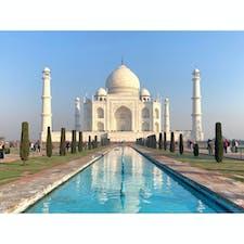 2020年1月25日 #インド #タージマハル はぁ...なんなんだこの美しさ ☺︎